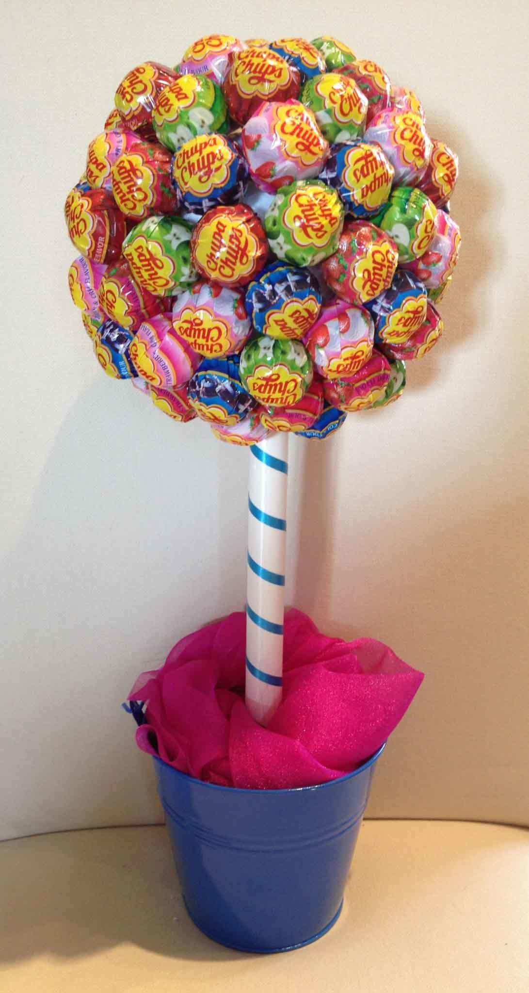 Как сделать топиарии из конфет
