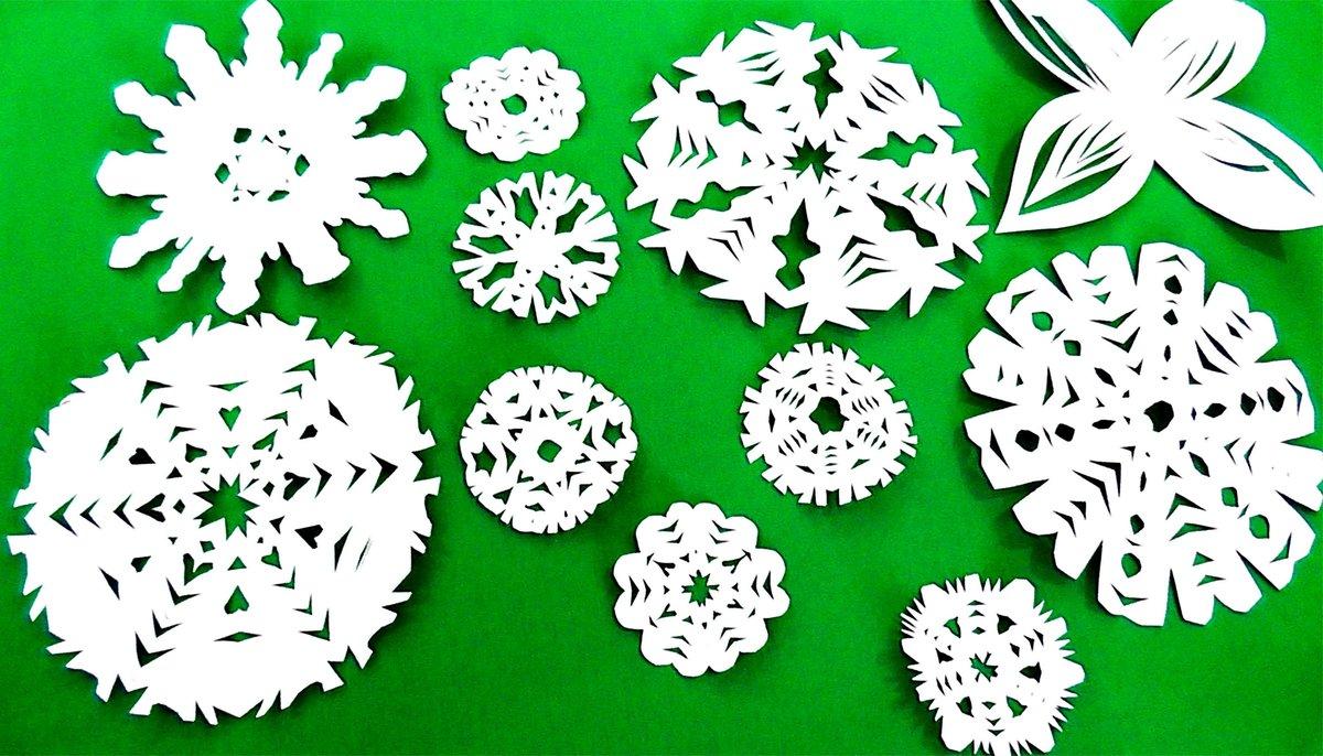 Снежинки сделанные своими руками 519