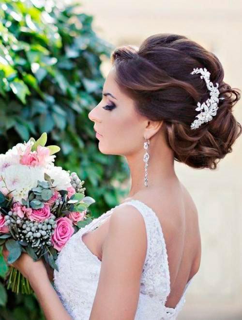 Какие свадебные прически