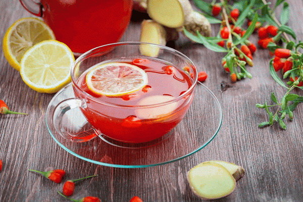 Как приготовить чай ягодный