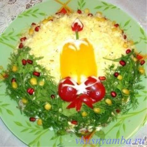 Салаты к новому году с фото с рецептами