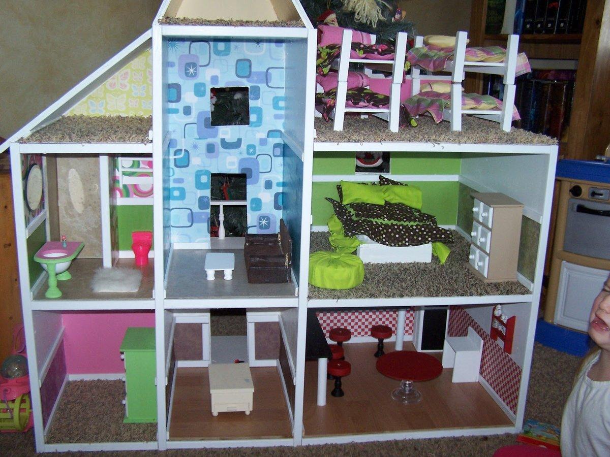 Из чего можно сделать кукольный домик своими руками