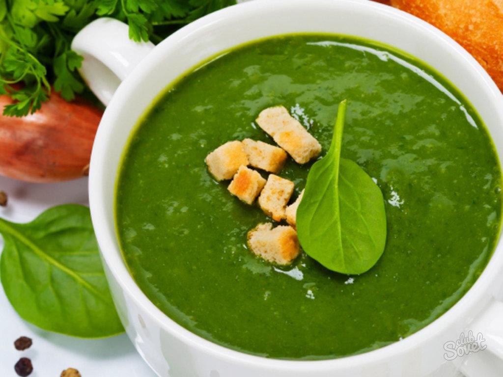 «Суп-<b>пюре</b> из шпината зеленый суп» — карточка пользователя ...