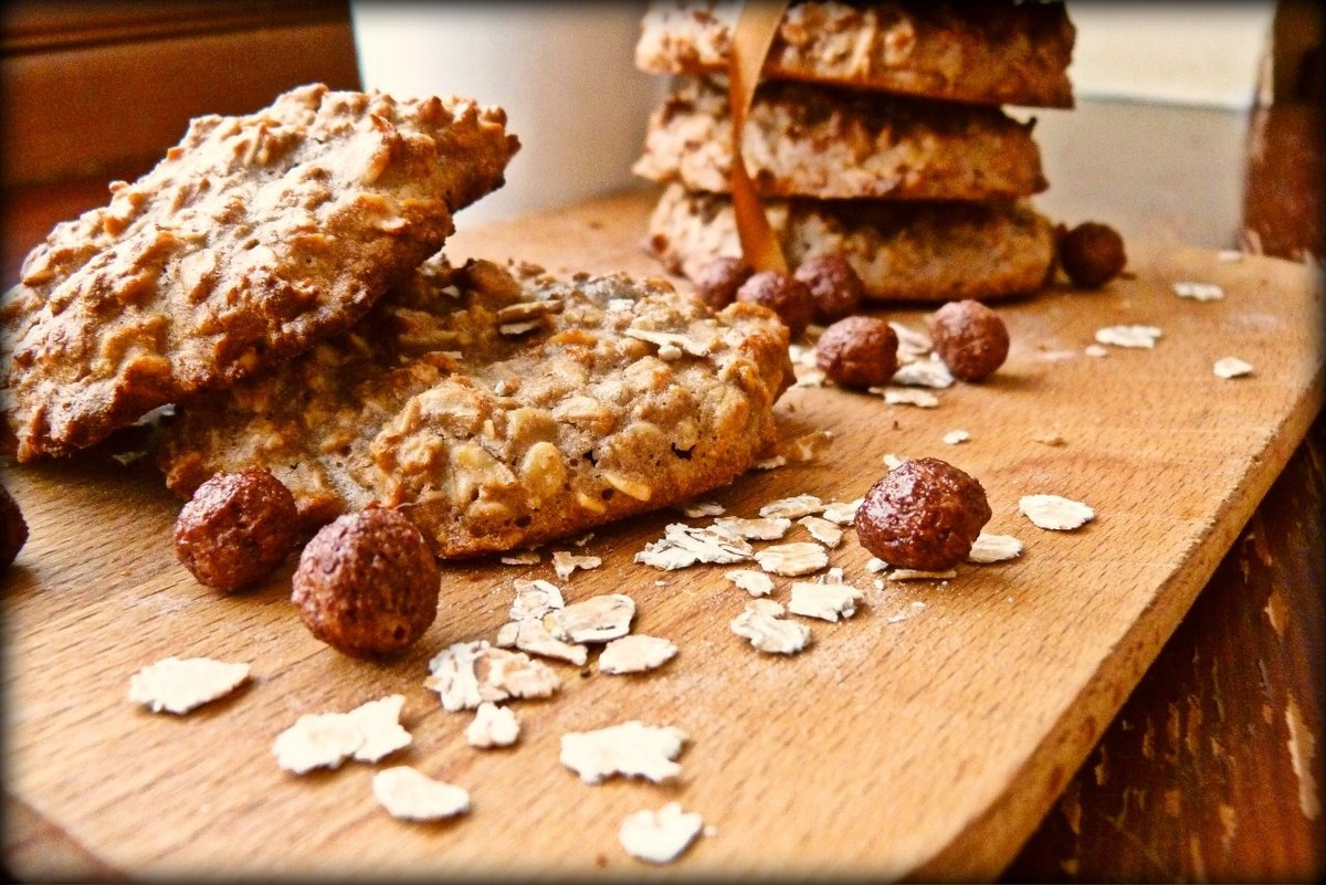 Печенье овсяное с орехами в мультиварке рецепты с фото