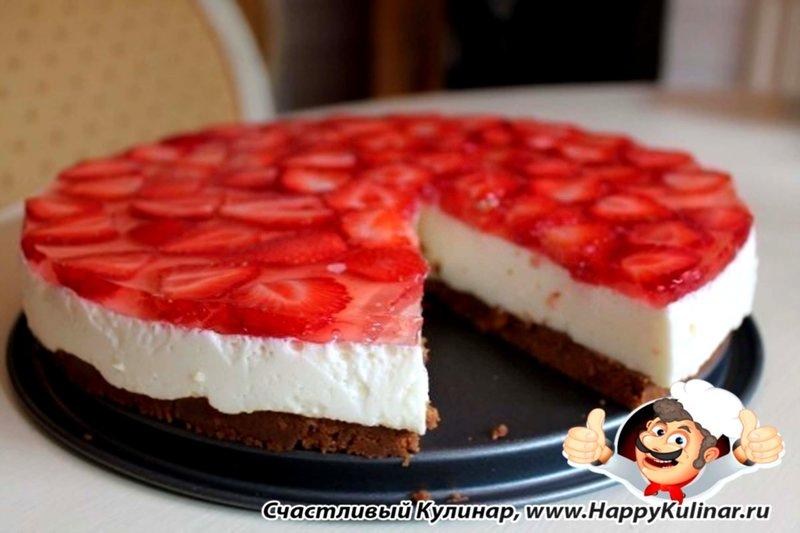 Рецепт торта чизкейк творожный