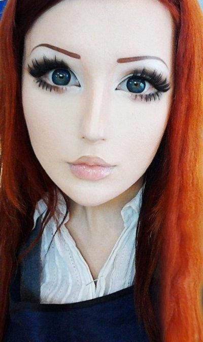 Как сделать большие глаза на