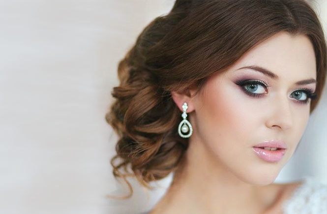 Макияж глаз для невесте картинки