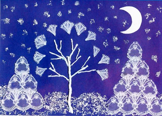 Картинки своими руками зима