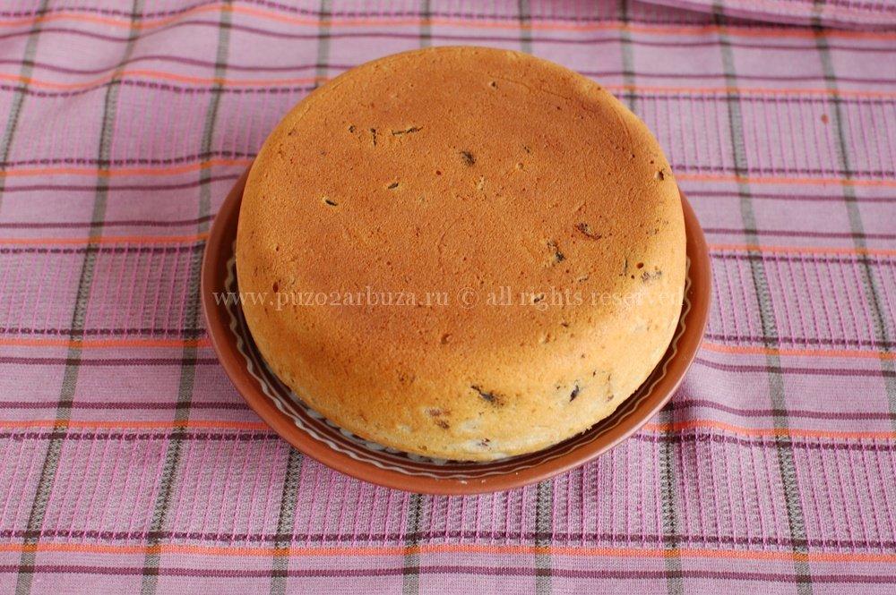 Почему не пропекается бисквит внутри