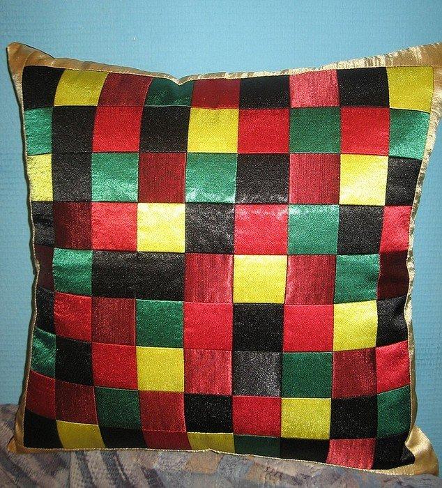 Фото наволочек для диванных подушек своими руками