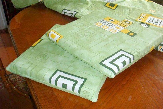 Как сшить подушку из поролона