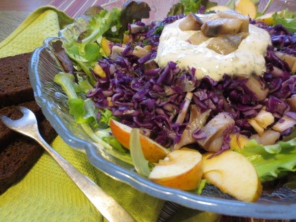 Салат скандинавия рецепт с