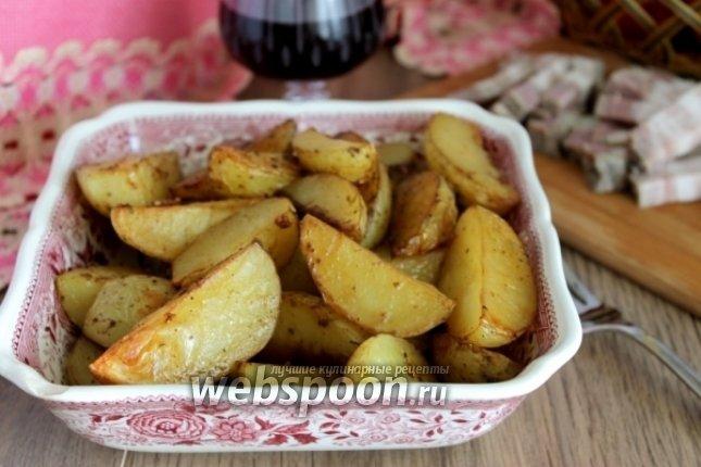 Картошка в соевом соусе в духовке рецепт с пошагово в