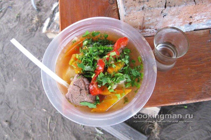 Вкусная шурпа из баранины рецепт фото