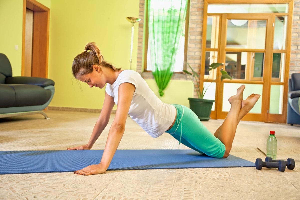 Фитнесом для ленивых в домашних условиях