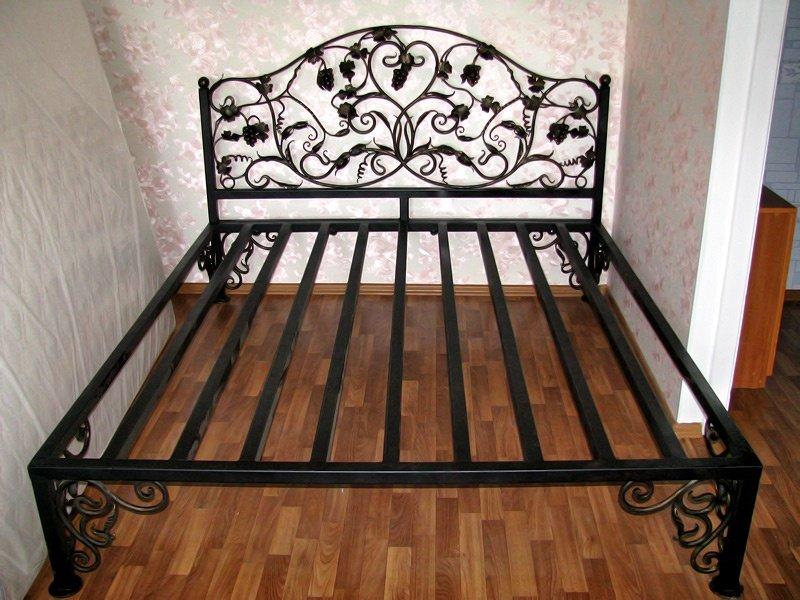 Сделать железную кровать своими руками фото