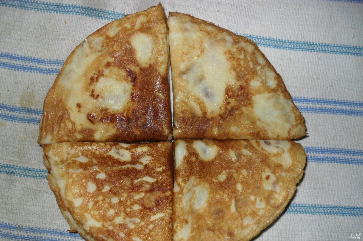 Блины на молоке рецепт пошагово сладкие тонкие на двоих