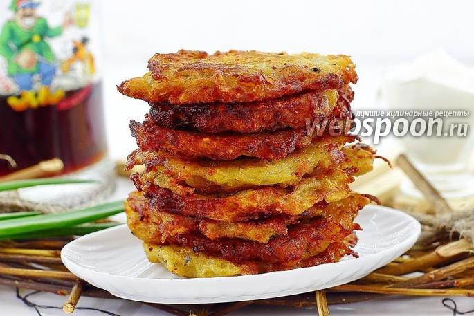 Брамбораки по чешски рецепт