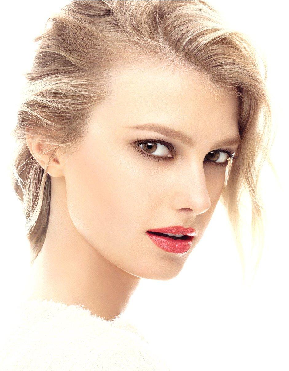 Фото макияжа блондинки с карими глазами