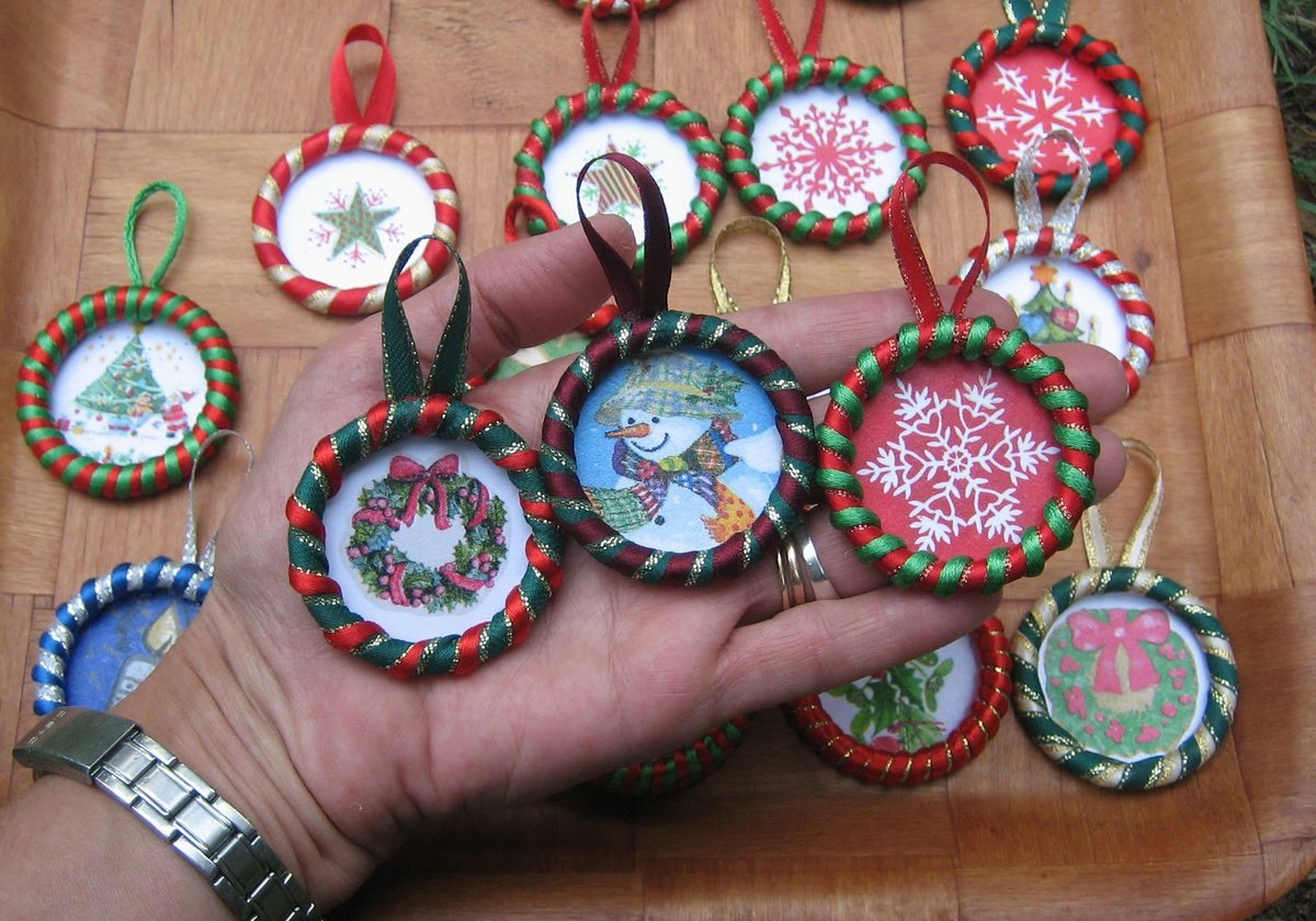 Изготовление сувенира к новому году своими руками