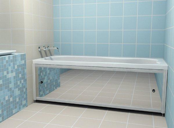 Не закрывать пространство под ванной своими руками