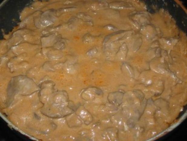 Печеночная подливка рецепт с фото пошагово