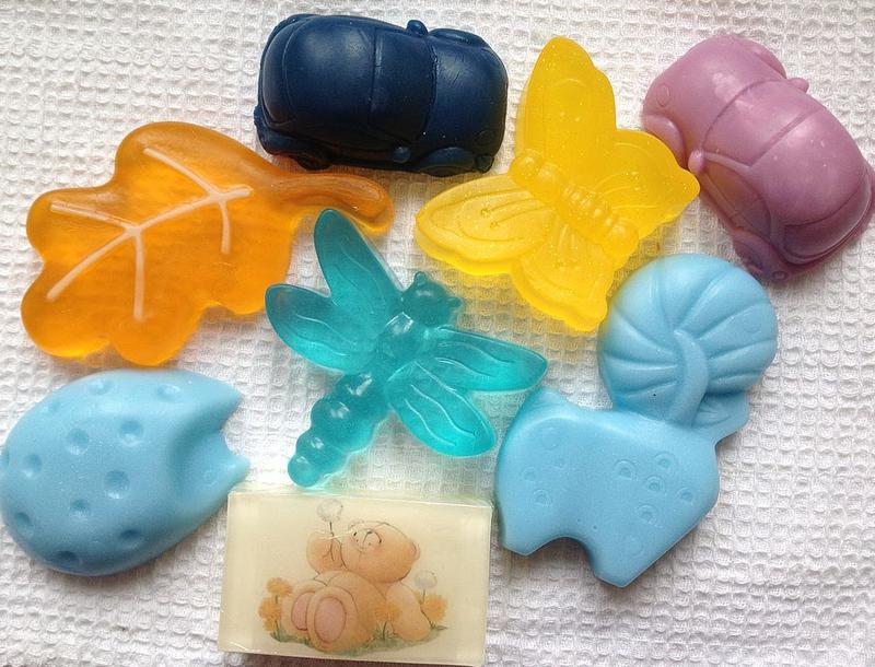 Мыло для лица своими руками из детского мыла