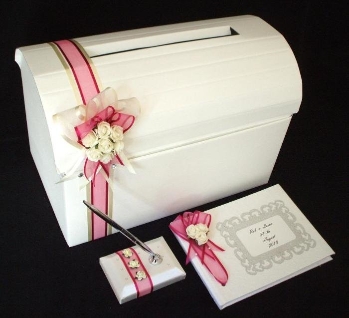 Коробка для подарков молодоженов 83
