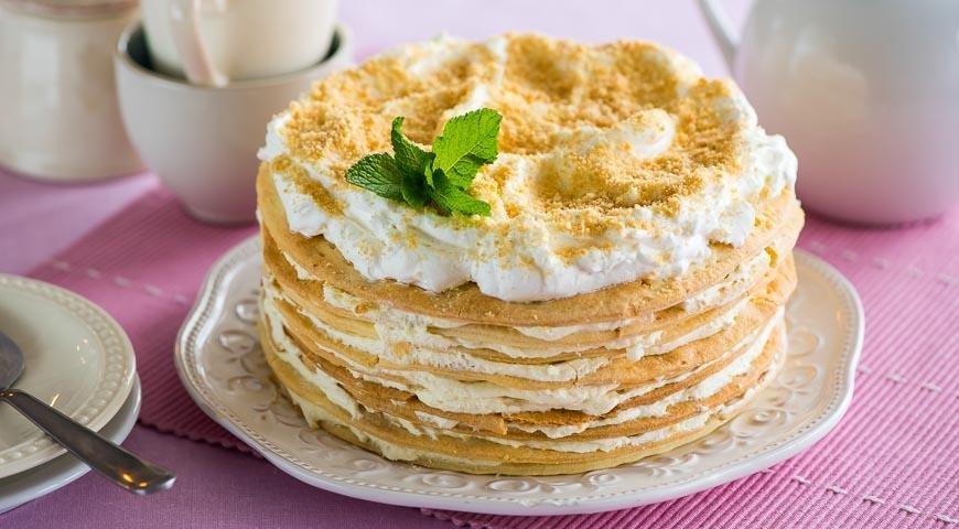 Торт наполеон рецепт классический с кремом из сгущенки