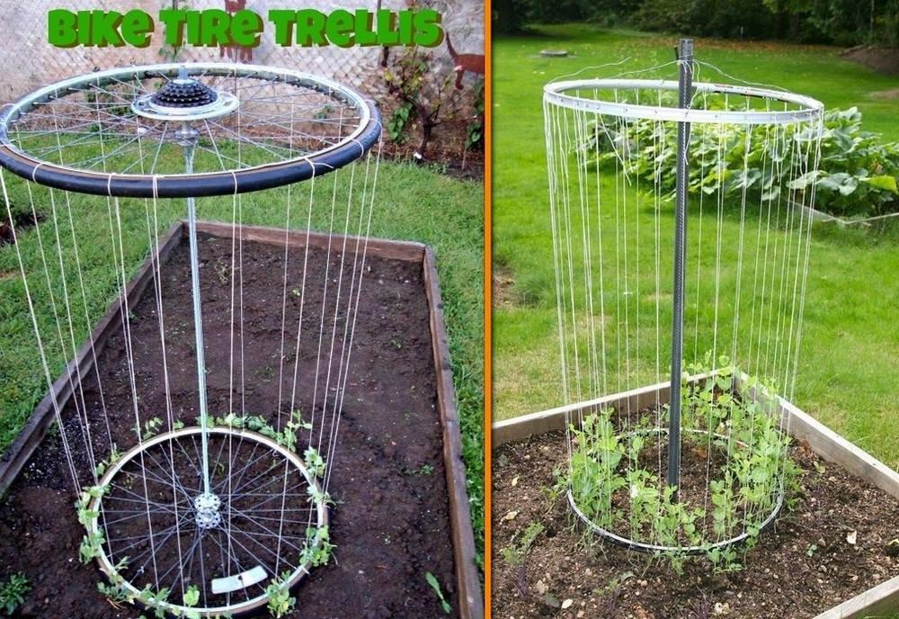 Идей для сада и огорода своими руками фото