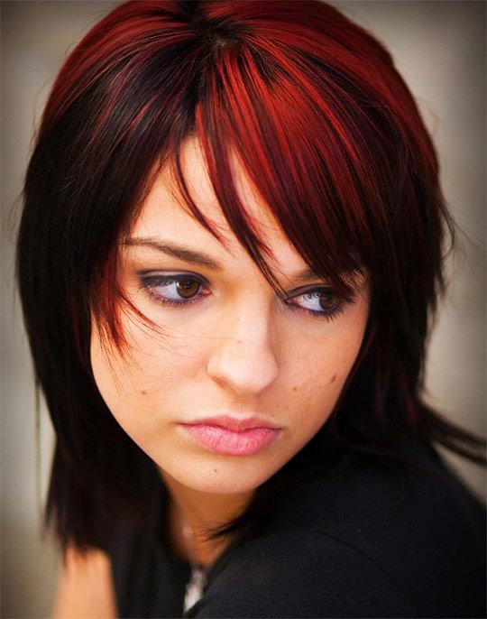 Короткая стрижка цвет волос темный