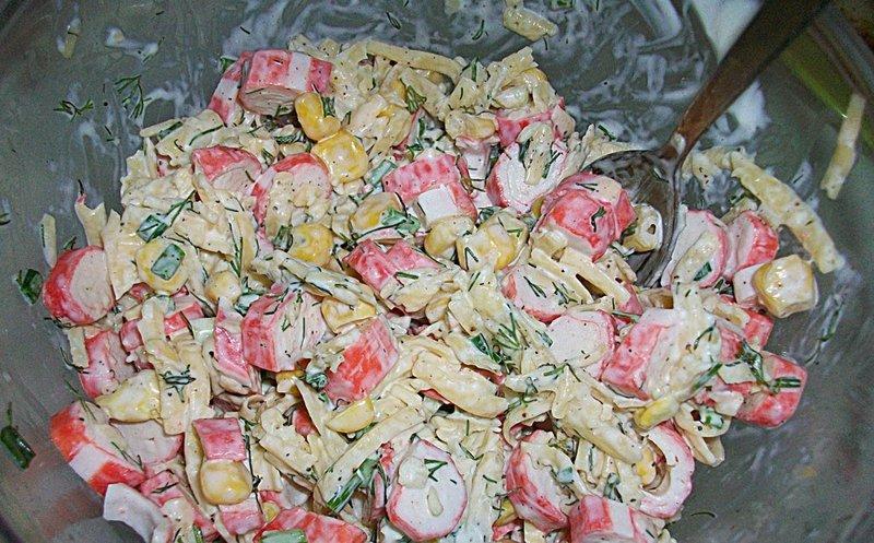 Салаты на скорую руку рецепты с фото пошагово