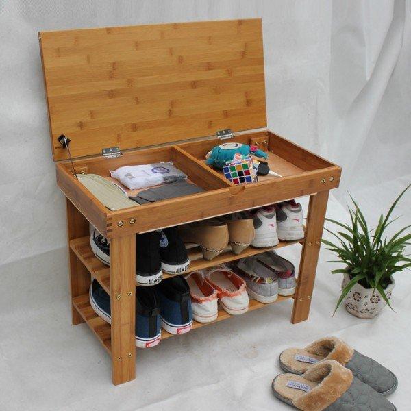 Тумбочки для обуви своими руками 27
