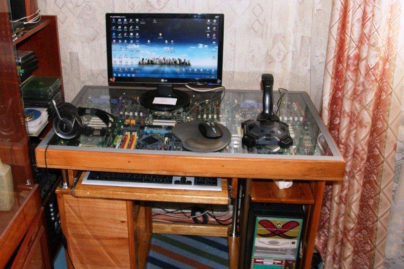 Как самому сделать компьютерные столы своими руками 58
