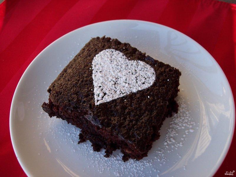 Шоколадные кексы с фото из какао порошка