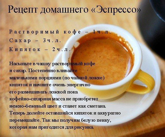 Капучино в домашних условиях пошаговый рецепт