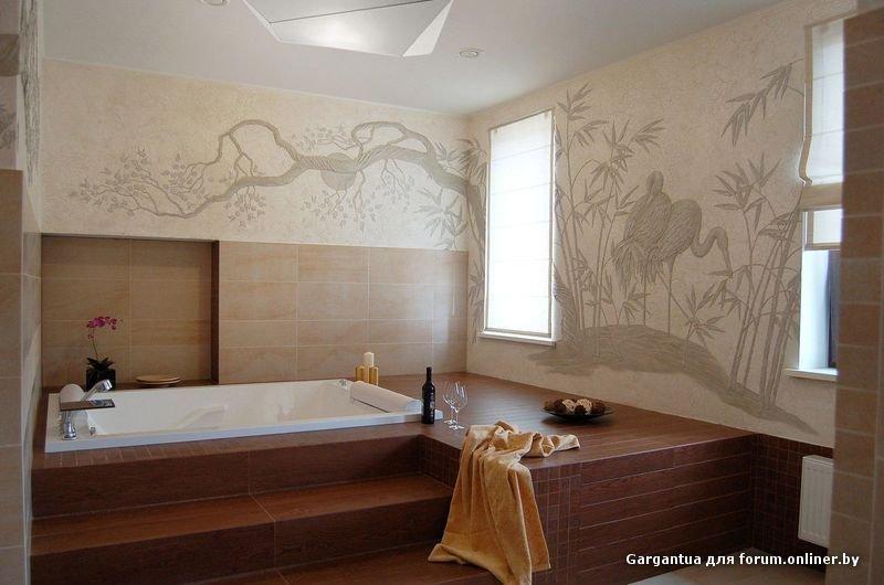 Ванные комнаты на подиуме дизайн