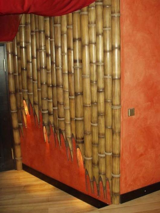 Из бамбукового полотна своими руками 92