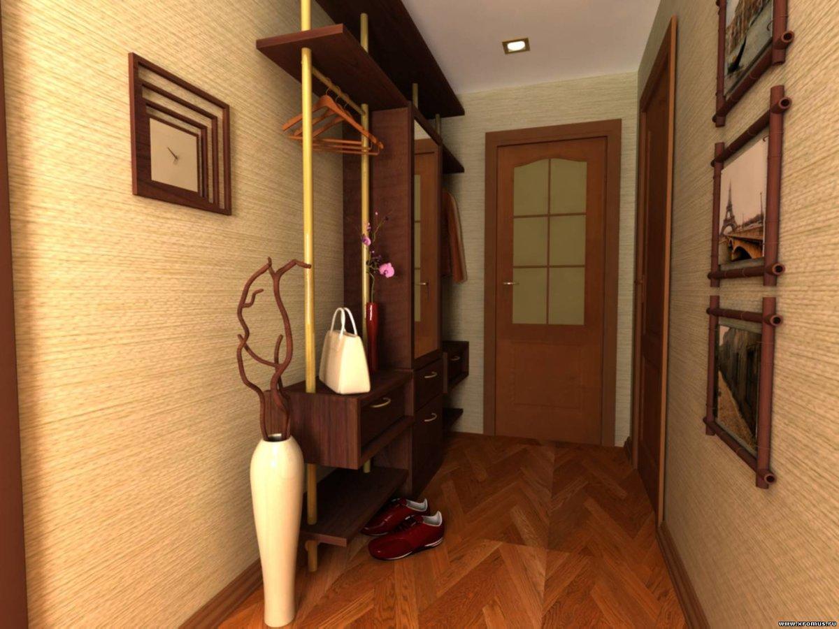 Узкая прихожая дизайн фото в квартире брежневке