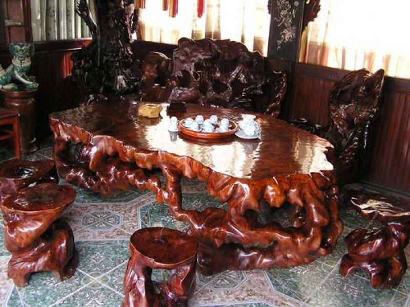 Оригинальная мебель из дерева своими руками фото 7