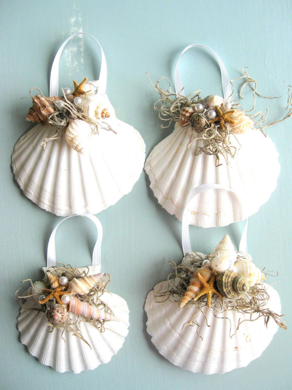 Поделки для дома из морских ракушек