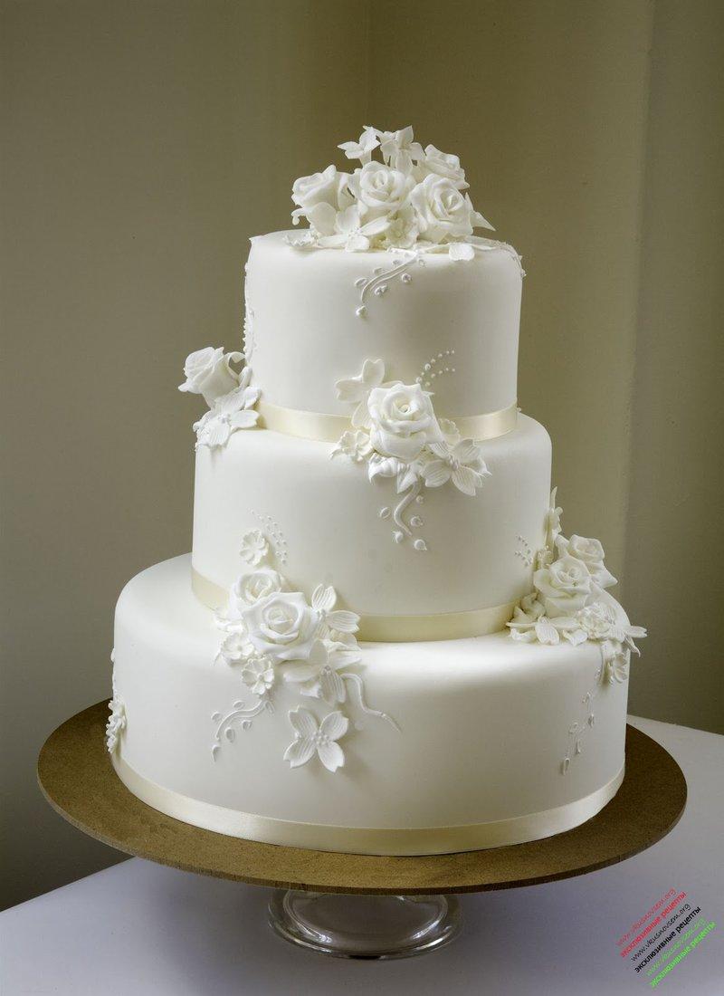 Торты своими руками свадебные