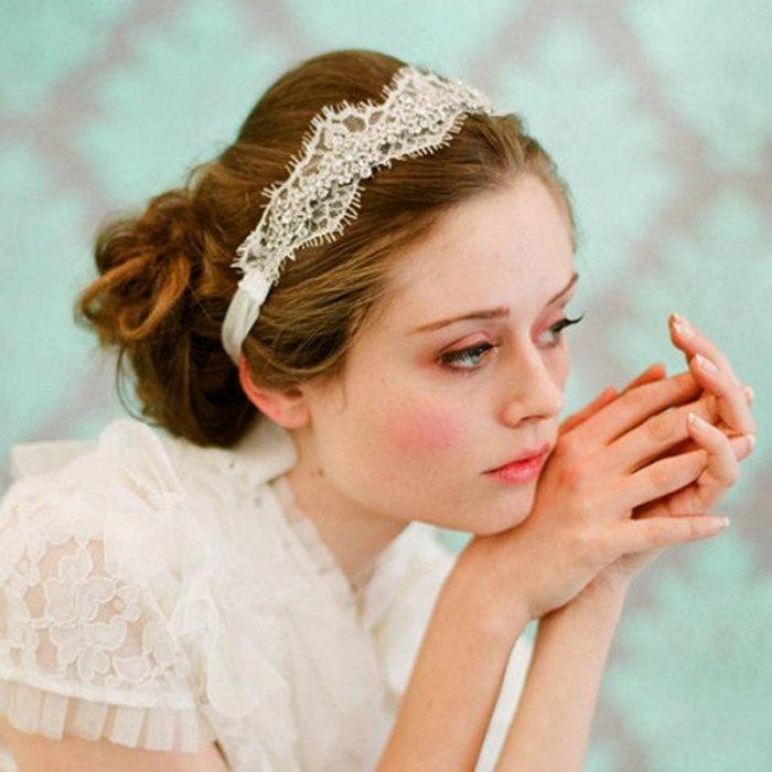 Свадебный прически фото своими руками