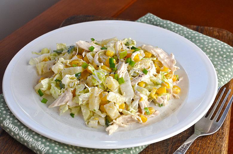 Рецепт салатов с с пекинской капустой