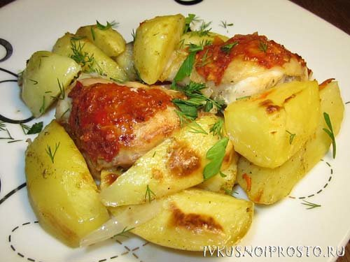 Курица цельная в фольге в духовке с рецепт