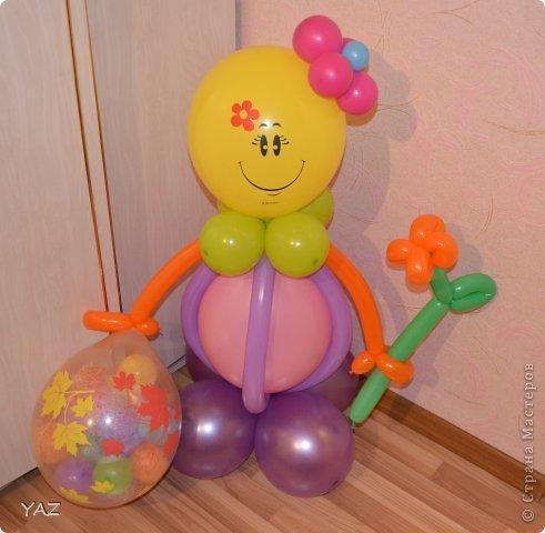 Поделка из воздушных шаров на день рождения