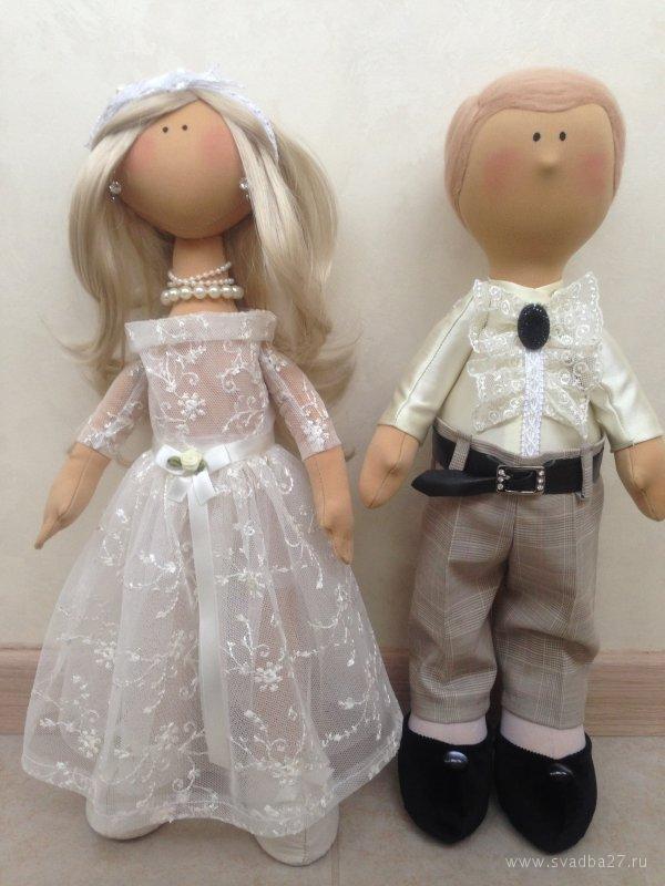 Своими руками невеста и жених кукла сшить 39