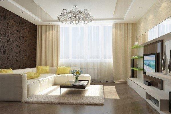 Идеи для ремонта в гостиной фото