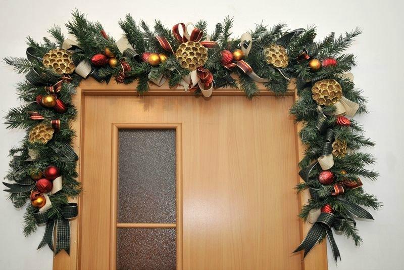 """Новогодняя гирлянда из еловых веток своими руками"""" - карточка пользователя aleksmarr80 в Яндекс.Коллекциях"""