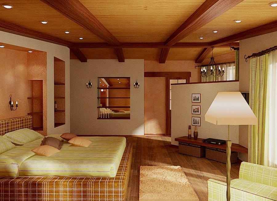 Интерьер небольшого частного дома фото
